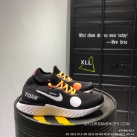 200 OFF-white X Nike Free Rn Flyknit Black YG186-613 2018 Russia FIFA World Cup Super Deals