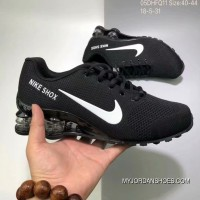 Nike AIR SHOX FLYKNIT Zoom Running Shoes BLACK WHITE SWOOSH 2018 Russia FIFA World Cup For Sale
