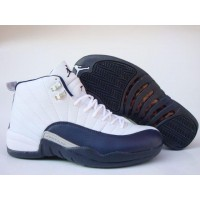 Air Jordan 12 Retro French Blue Metallic Silver Varsity Red