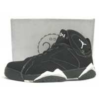 Air Jordan 7 Retro Black White