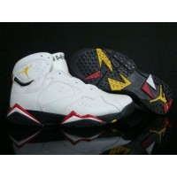 Air Jordan 7 Retro Cardinals White Black Cardinal Red Bronze