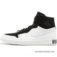 Air Jordan 1 Equality Aj1 BHM Black And White AQ7474-001 Best