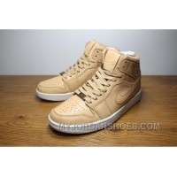 "Air Jordan 1 ""Gold Plated"" KHAKI Authentic DecF5"