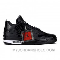 Authentic 719864-010 Air Jordan 11Lab4 Black/Black-White Authentic