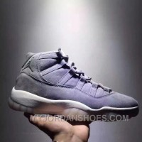 Air Jordan 11 Space Jam Grey Suede Limited Edition Lastest KhDiT