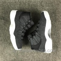 Air Jordan 11 Wool Dark Grey Online EJretJE