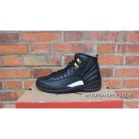 AJ12 Black Gold Standard Air Jordan 12 The Master 130690-013 New Release