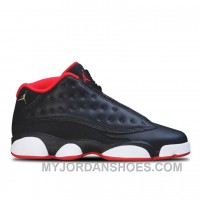 Authentic 310810-027 Air Jordan 13 Retro Low Black/Metallic Gold-University Red-White KpSnd