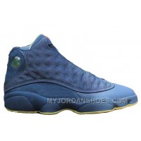 414571-405 Air Retro Jordan Squadron Blue 13s Electric Yellow-Black A13017 QJate