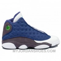 414571-401 Air Jordan 13 Flint French Blue University Blue Flint Grey A13009 Mdfd4