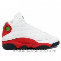 136002-101 Air Jordan 13 (XIII) Original OG White Black True Red A13001 ZbtYX