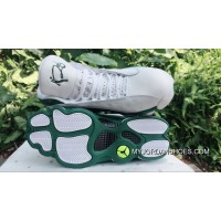 AJ13 Air Jordan 13 Allen Ray White Green New Style SF8hNr