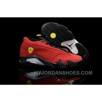 Nike Air Jordan 14 Retro Low Ferrari T28CG
