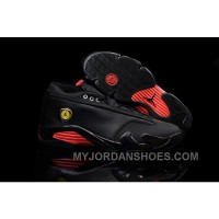 Nike Air Jordan 14 Retro Low Black Red MpCFx