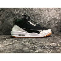 Jordan 3 Air 3 GS Black White Patent The Perfect High Quality SKU 441140-022 Discount