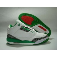 Air Jordan 3 Retro White Green Red