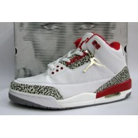 Air Jordan 3 Original White Fire Red