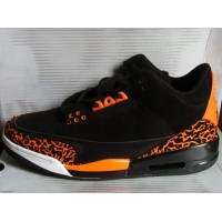 Air Jordan 3 Retro Black Orange
