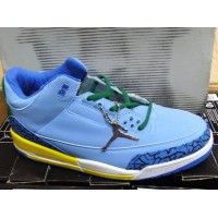 Air Jordan 3 Retro Blue Yellow
