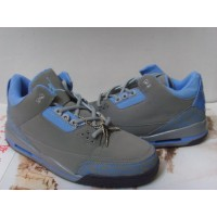 Air Jordan 3 Retro Grey Blue Black