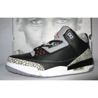 Air Jordan 3 Retro Black Cement Grey