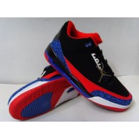 Air Jordan 3 Retro Black Red Blue