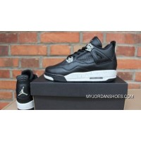 J4 New Oreo GS Shoes Air Jordan 4 Yards Outlet
