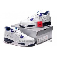 Air Jordan 4 Retro GG Denim Dark Obsidian Vivid Pink Sz 4 Men AMize