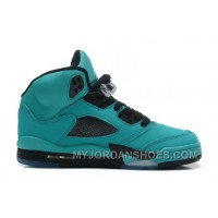 440888-090 Air Jordan 5 Retro Sky Blue Black (Women Men Gs Girls) SEZ4t