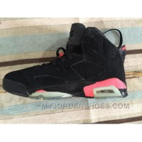 Air Jordan 6 Black Infrared FX7yH