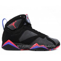 304775-043 Air Jordan 7 Retro Defining Moments Black Charcoal Team Red A07005 FYmbW