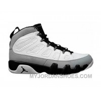 302370-106 Air Jordan 9 Retro White/Black-Neutral Grey Online CaB2B