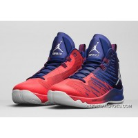 Jordan Super.Fly 5 Basketball Shoes Royal Blue Red 844677-404 Free Shipping