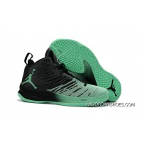 Jordan Super.Fly 5 Basketball Shoes Green Glow Black White 850700-032 Discount