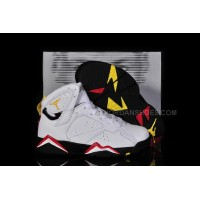 Air Jordan 7 (VII) Retro Cardinals (White - Black/Cardinal Red - Bronze) Kids 97304