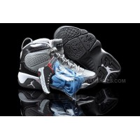 Discount Nike Air Jordan 9 Kids White Cool Grey