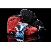 Deal Nike Air Jordan 9 Kids Red Black