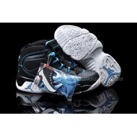 Buy Nike Air Jordan 9 Kids Black Blue White