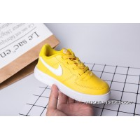 700 22-35 Kids Nike Air Force One Yellow Super Deals