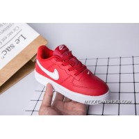Kids Nike Air Force One Red Copuon