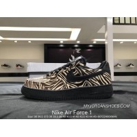Nike Air Force 1 AF1 WMNS Air Force 1 LX Zebra Print New Style