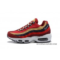 Nike Air Max 95 Premium China Red Sport Shoes Running Shoes 538416-603 Latest
