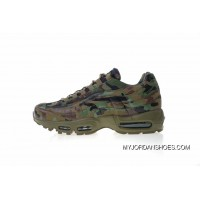 Japan Limited Nike Air Max 95 TT Retro Zoom All-match Jogging Shoes Series Army Camo 634773-203 Top Deals