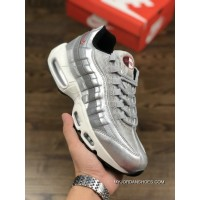 Pure Liquid Silver Bullet Nike Air Max 95 918359-001 The Original Technology Of HEAT SEAL Air Compressor New Style