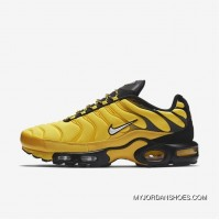 Nike Air Max Plus TN AIR MAX 95 Frequency Pack Men Running Shoes Limited AV7940 700 Men Yellow Black New Year Deals