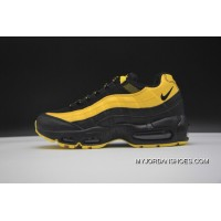 Nike Air Max 95 Nike Air Max Frequency Pack Men Running Shoes Limited Men Fashion Running Shoes YELLOW AV7940 700 BLACK Free Shipping