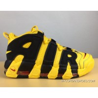 Nike Air More Uptempo Bruce Lee Black And Yellow Top Deals