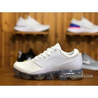 Nike AIR VAPORMAX Women Running Shoes AH9045-101 2018 Zoom AIR Size Pay Attention To The Small Size Of A Yard New Year Deals