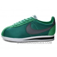 Nike Classic Cortez Nylon Dark Atomic Teal Black White For Sale EA7tYYT