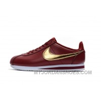 NIKE CORTEZ NYLON PRM Burgundy Super Deals ZiRKmb